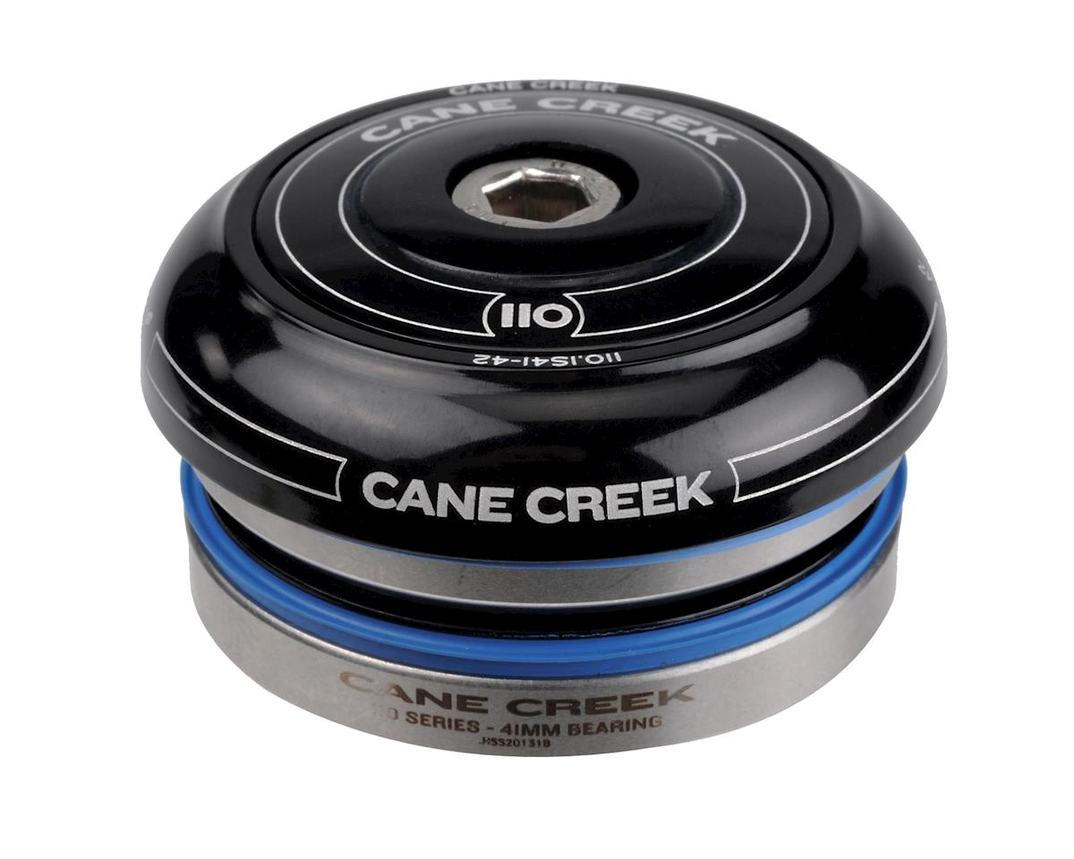 Image 2 for Cane Creek 110 Short Cover Headset (Black) (IS41/30) (28.6mm Threadless)