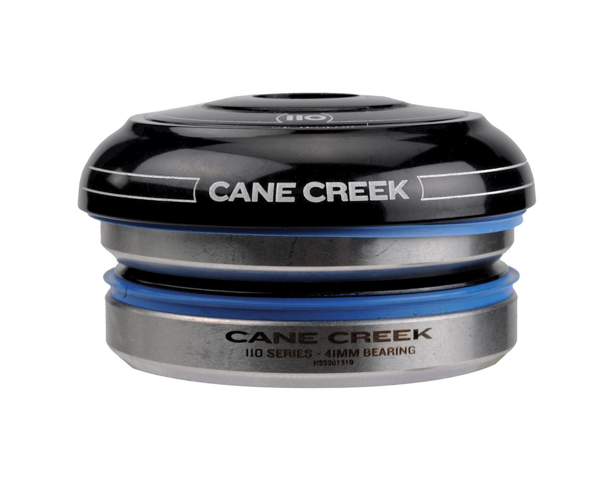 Image 3 for Cane Creek 110 Short Cover Headset (Black) (IS41/30) (28.6mm Threadless)
