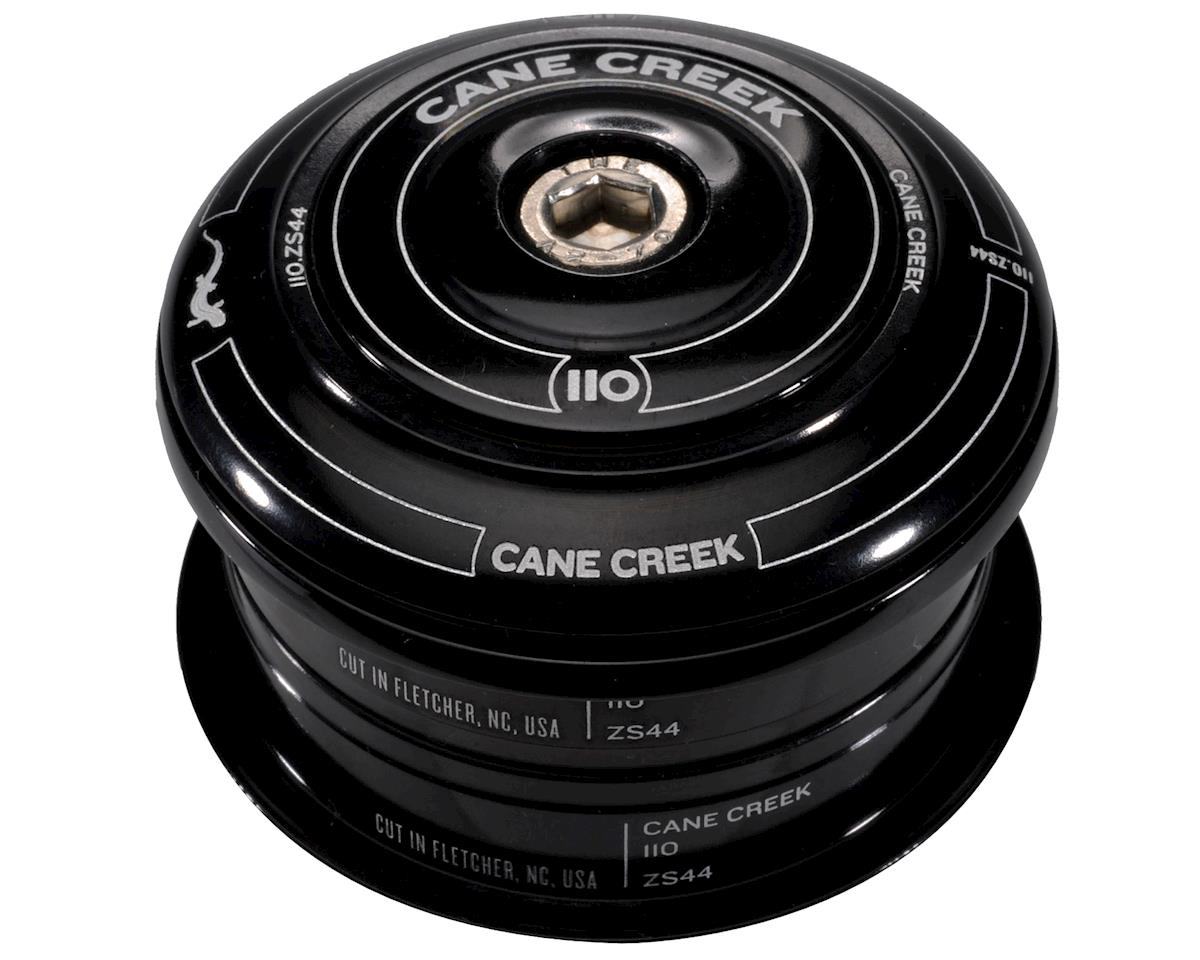 Cane Creek 110 Short Cover Headset (Black) (ZS44/30) (28.6mm Threadless)
