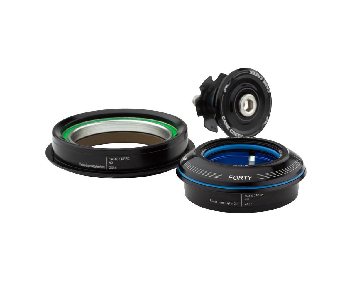 Cane Creek Headset Cc Semi-Int 40Series 1-1/8X1.5Cart 30Mmcrown Straight Steerer Bk
