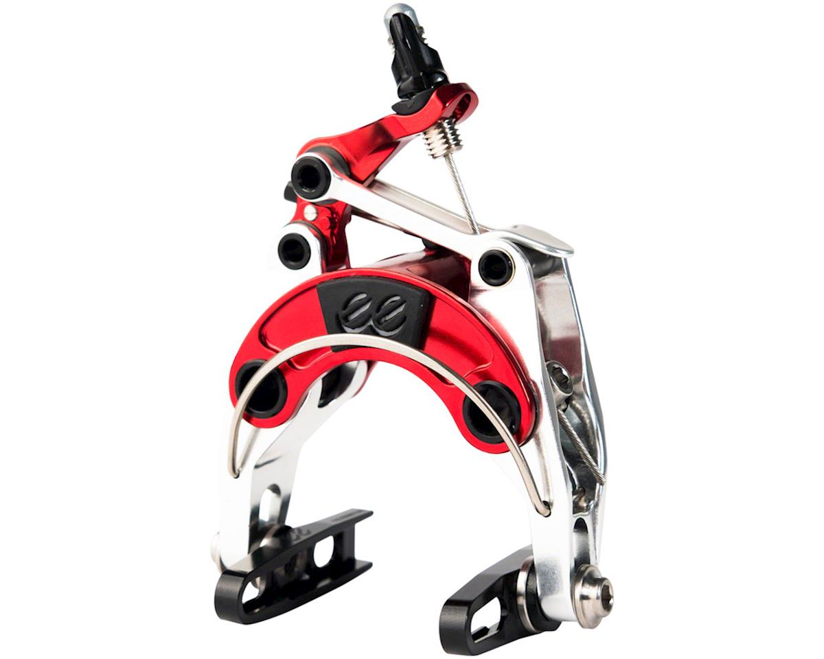 Cane Creek El Diablo eeBrake Regular Mount Front Caliper Brake, Red and Silver