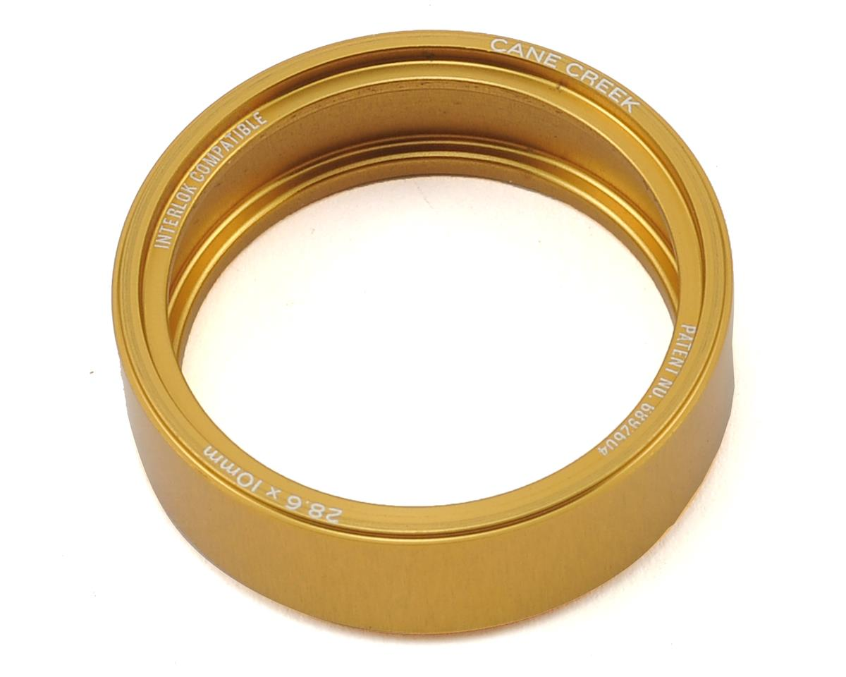 110-Series 10mm Alloy Interlock Headset Spacer (Gold)