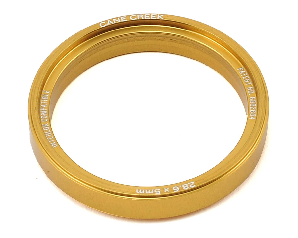 Cane Creek 110-Series 5mm Alloy Interlock Headset Spacer (Gold)