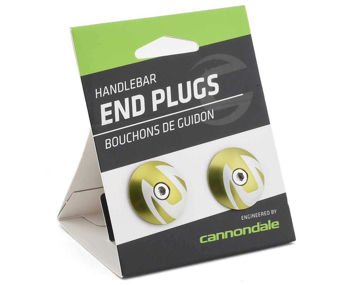 Image 2 for Cannondale 2018 Handlebar End Plug (Alloy) (Green)