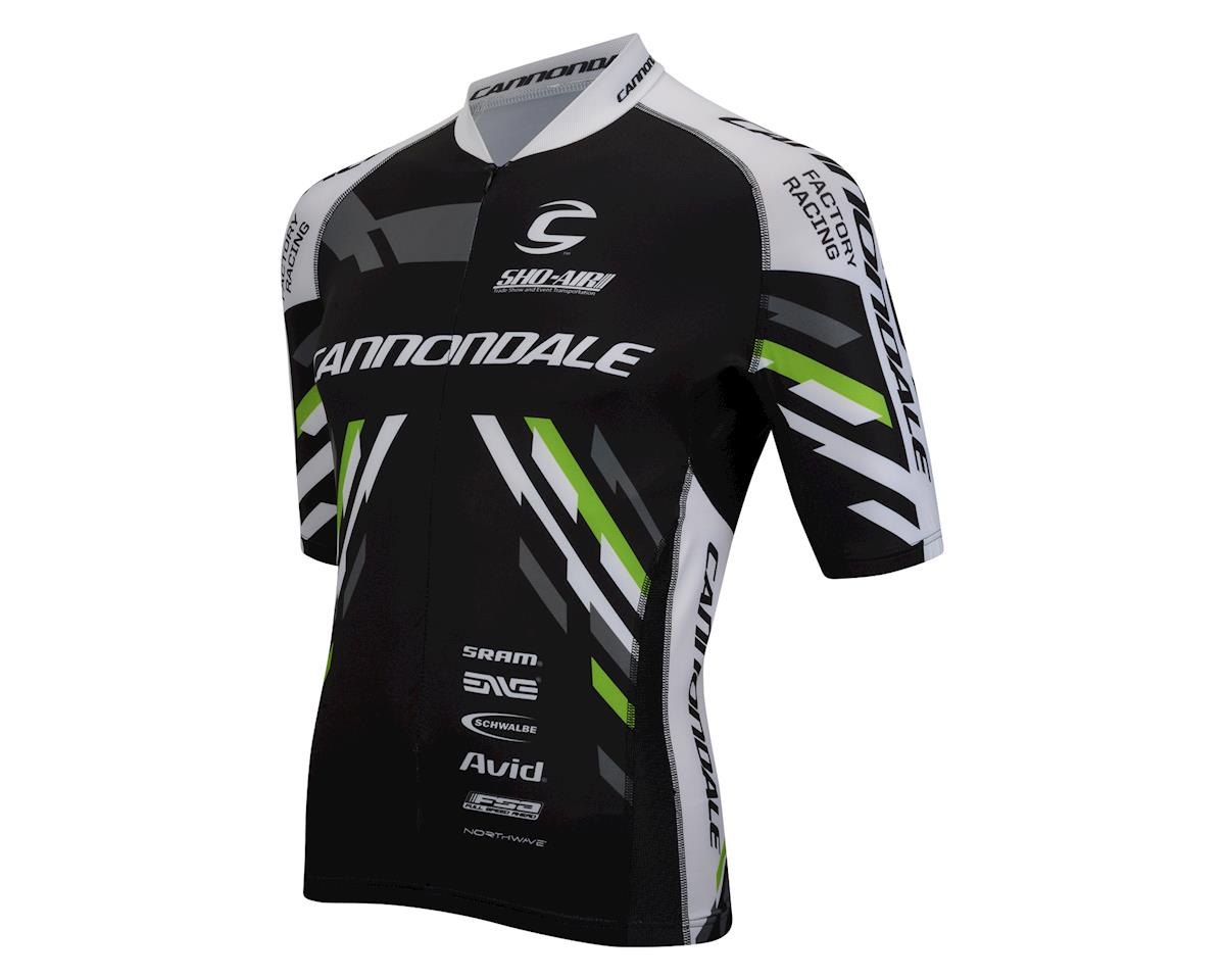 Image 1 for Cannondale CFR Team Jersey (Team Cfr Green/Black) (Xx-Large 45-48)
