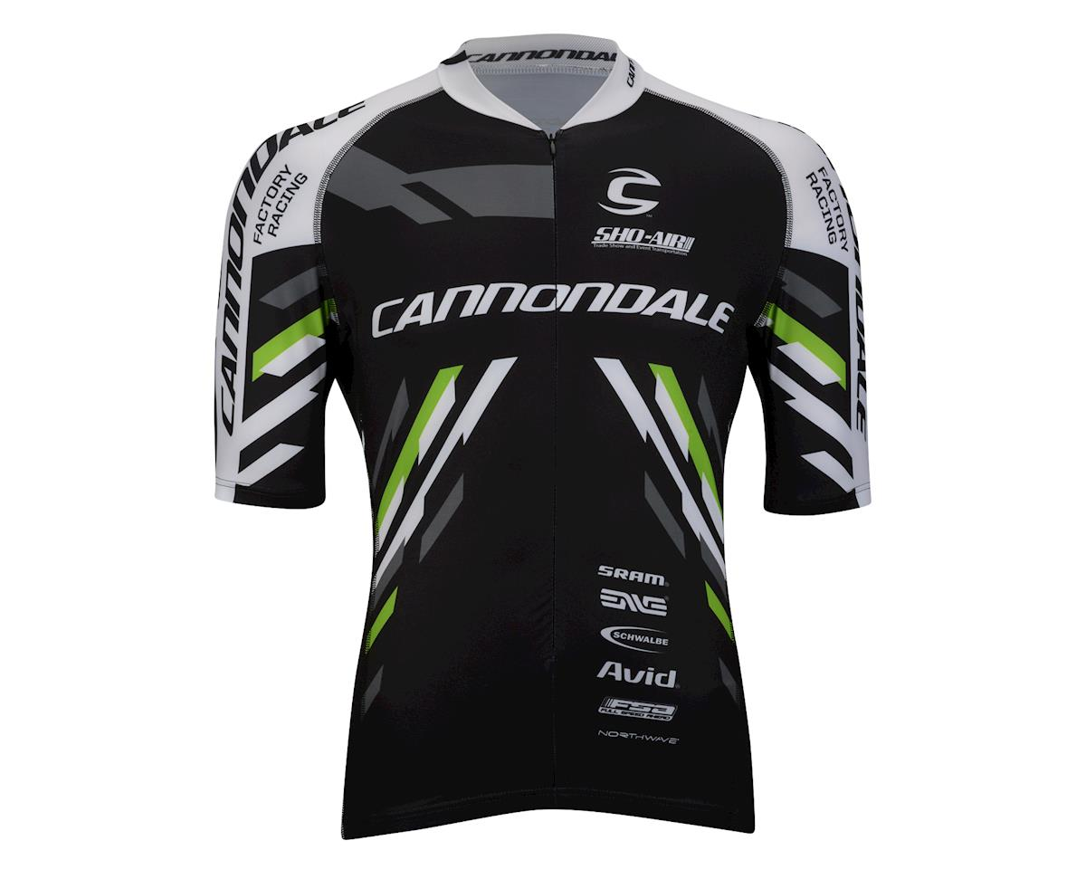 Image 2 for Cannondale CFR Team Jersey (Team Cfr Green/Black) (Xx-Large 45-48)