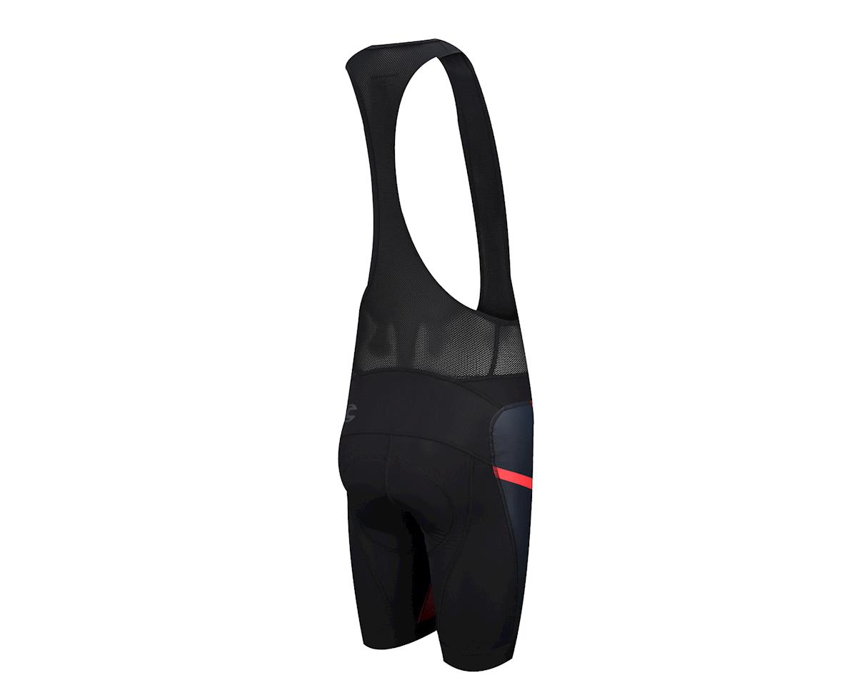 Image 2 for Cannondale Performance 2 Printed Bib Shorts (Black/Racing Red) (X-Large 36-39)