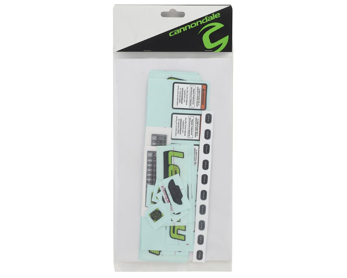 Cannondale Lefty Scalpel SI 27.5 Alloy 2018 Decal
