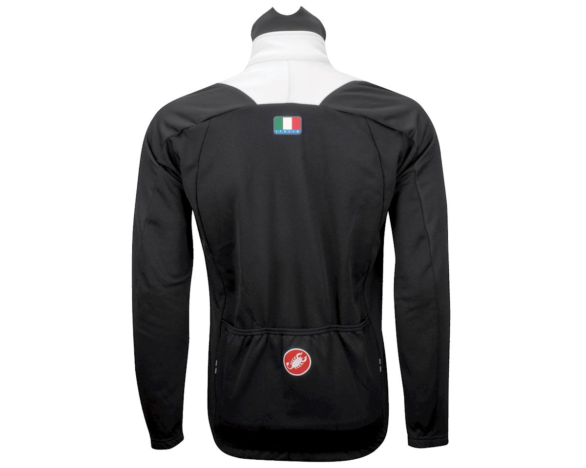 Castelli Mortirolo Due Jacket (Black/White)