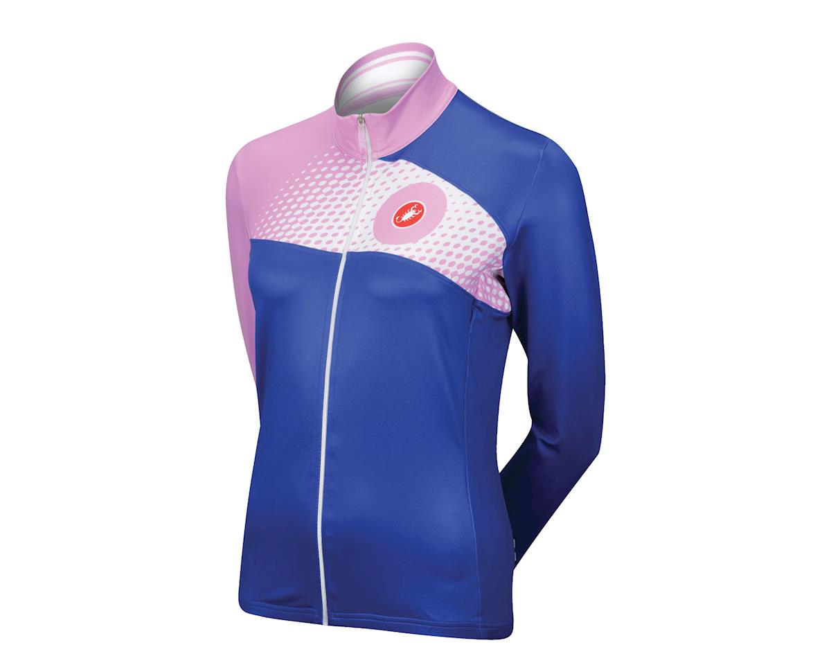 Image 1 for Castelli Women's Incanto Long Sleeve Jersey (Blue)