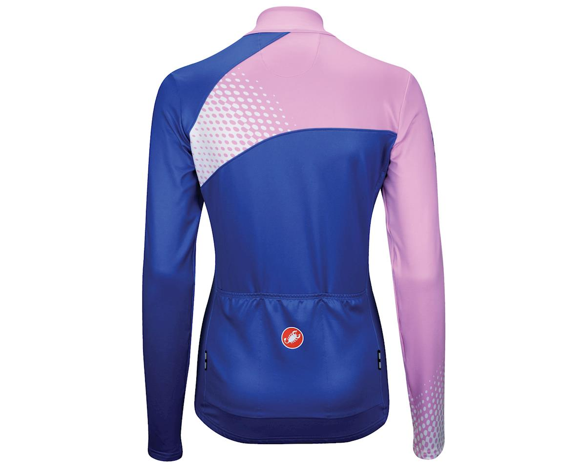 Image 2 for Castelli Women's Incanto Long Sleeve Jersey (Blue)