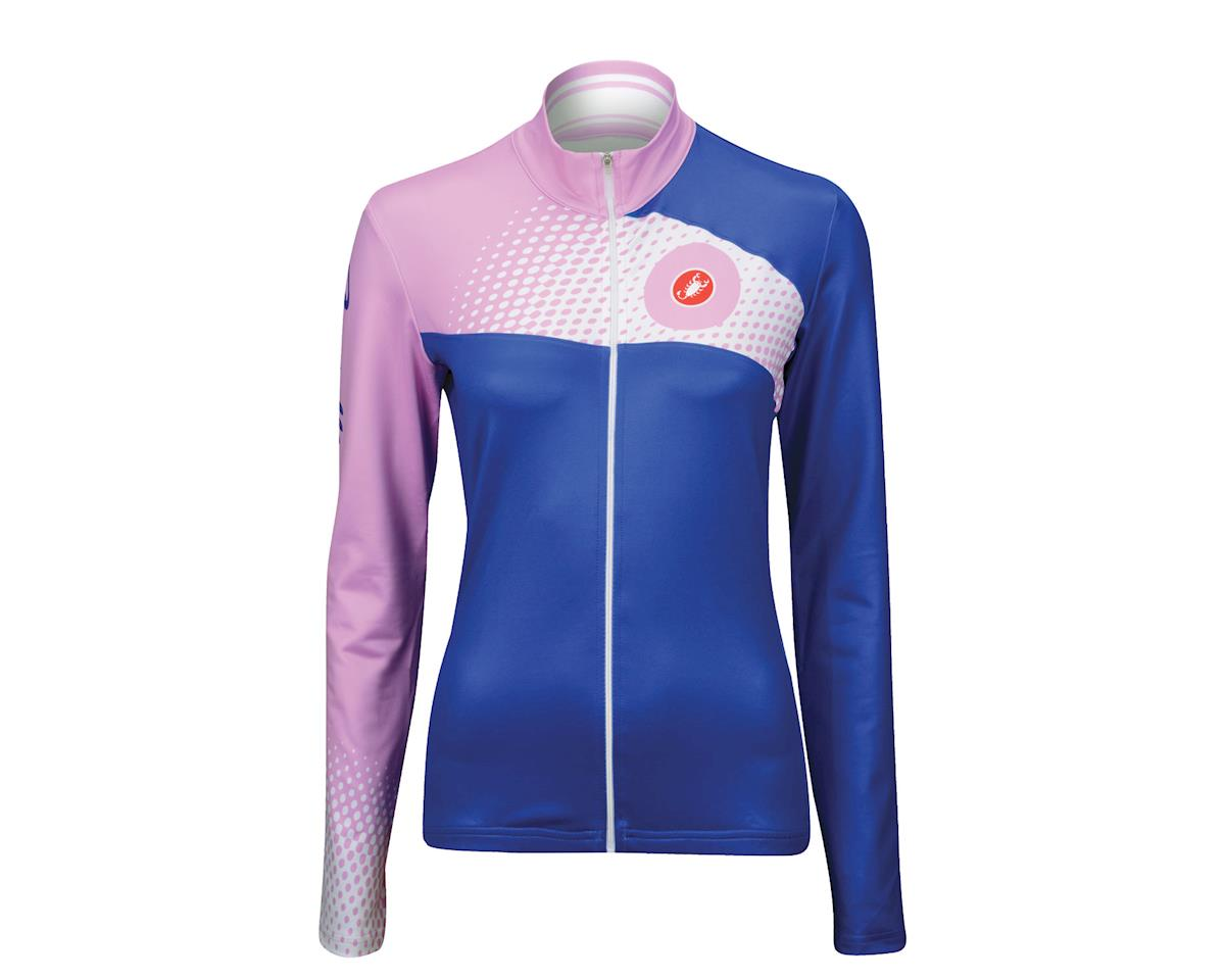 Image 3 for Castelli Women's Incanto Long Sleeve Jersey (Blue)