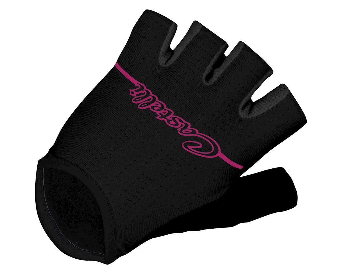 Castelli Women's Dolcissima Gloves (Black/Pink)