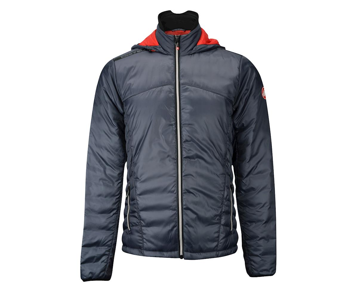 Castelli Meccanico Puffy Jacket (Red/Silver) (Xsmall)