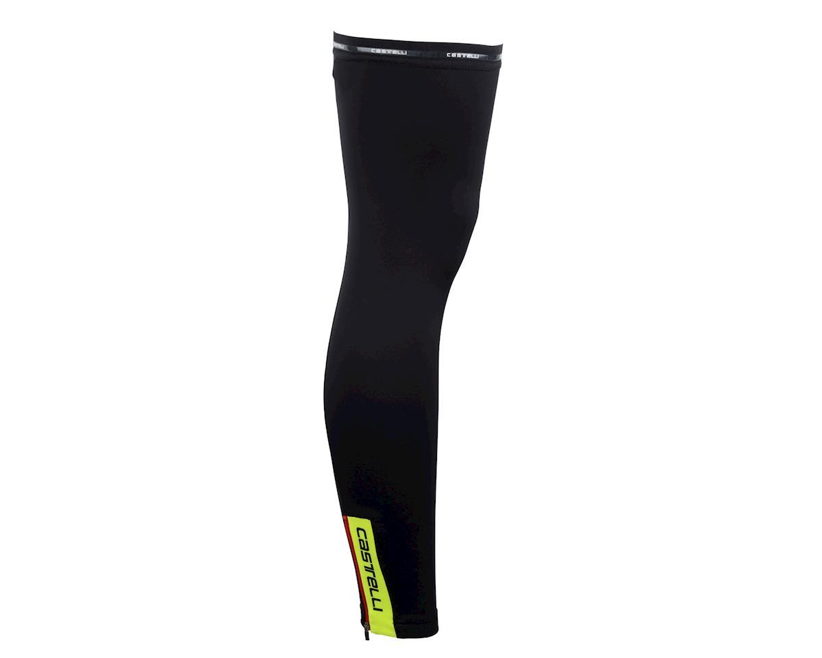 Castelli Thermoflex Leg Warmers (Matte Black/High Vis)