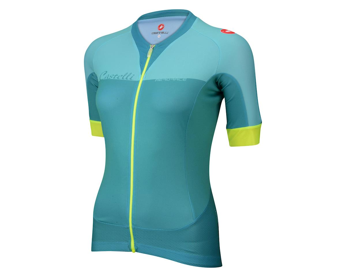 Castelli Women s Aero Race FZ Short Sleeve Jersey (Pink Magenta)  11 ... c00efcfca