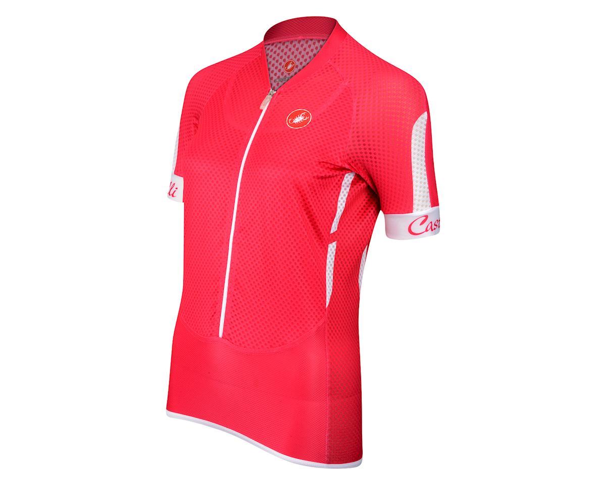 f9e797f80 Castelli Women s Climbers Short Sleeve Jersey (Raspbry)  11-3586-RAS ...