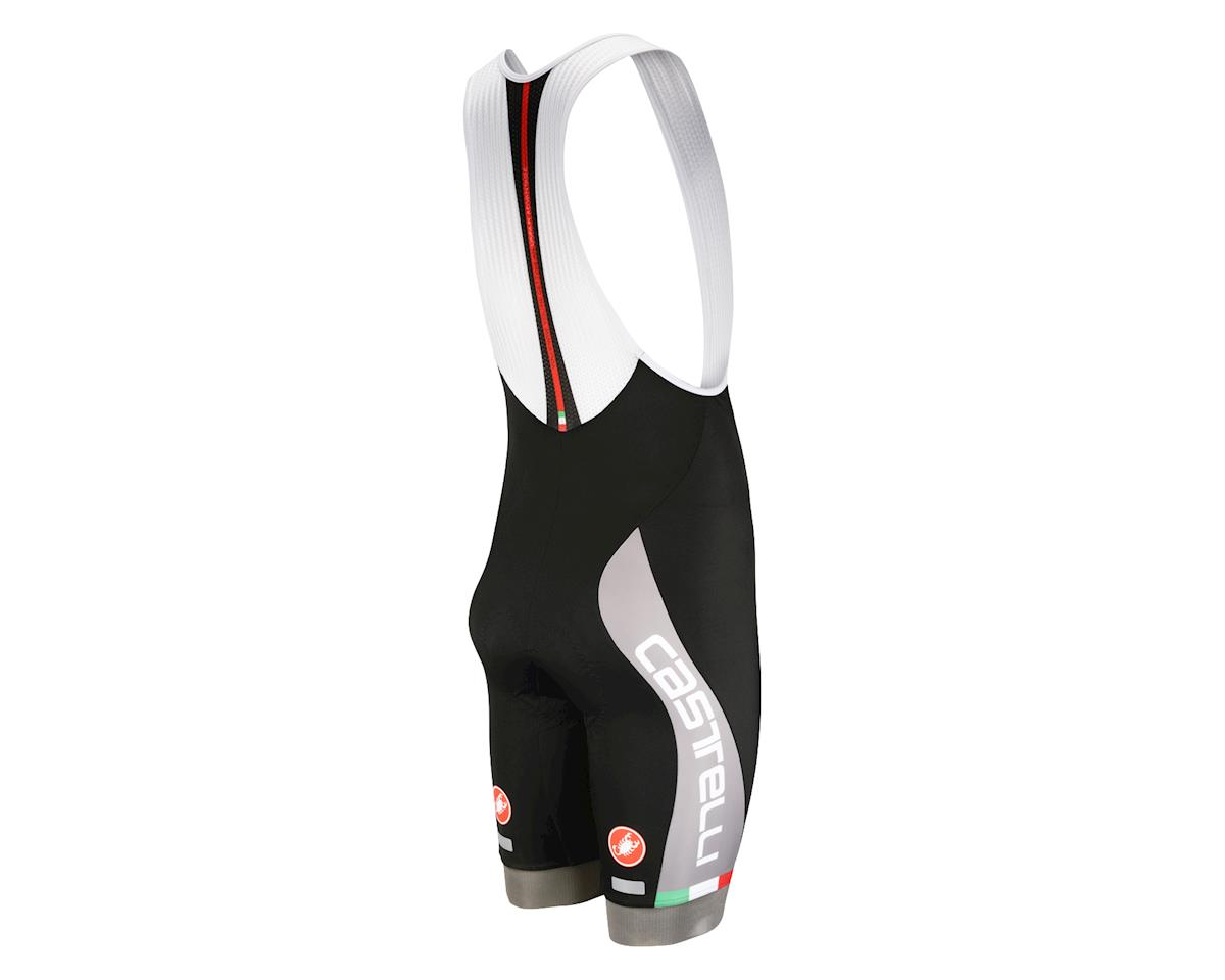 Castelli Velocissimo Bib Shorts - Performance Exclusive (Matte Black/High Vis)
