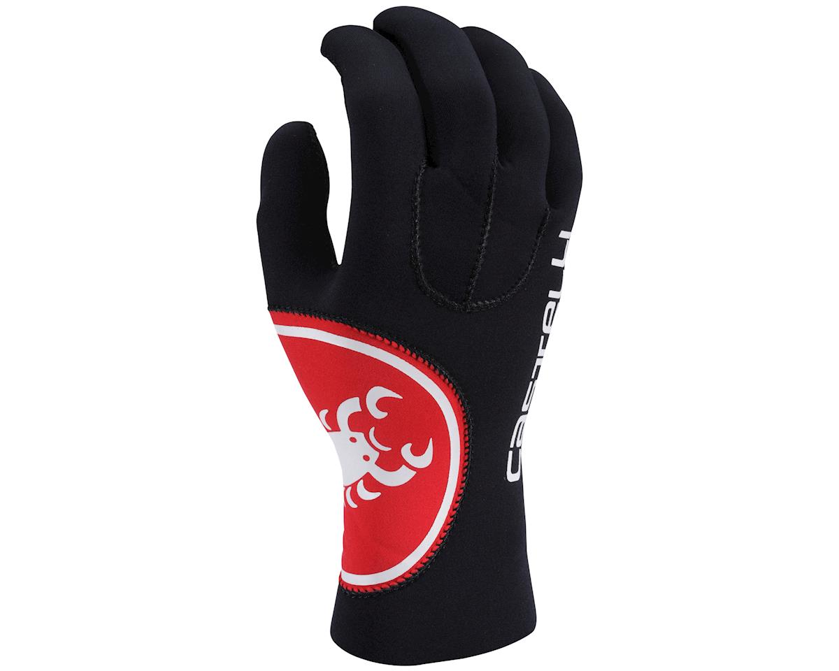 Castelli Diluvio Gloves (Black/White)