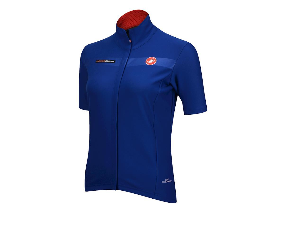 Castelli Women's Gabba Short Sleeve Jacket (Aqua)