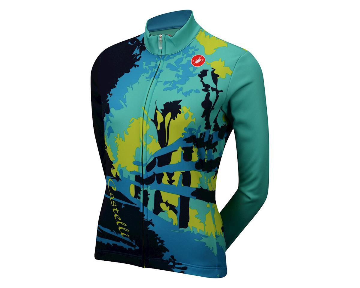 Castelli Women's Sentiero Long Sleeve Jersey (Teal Gr)