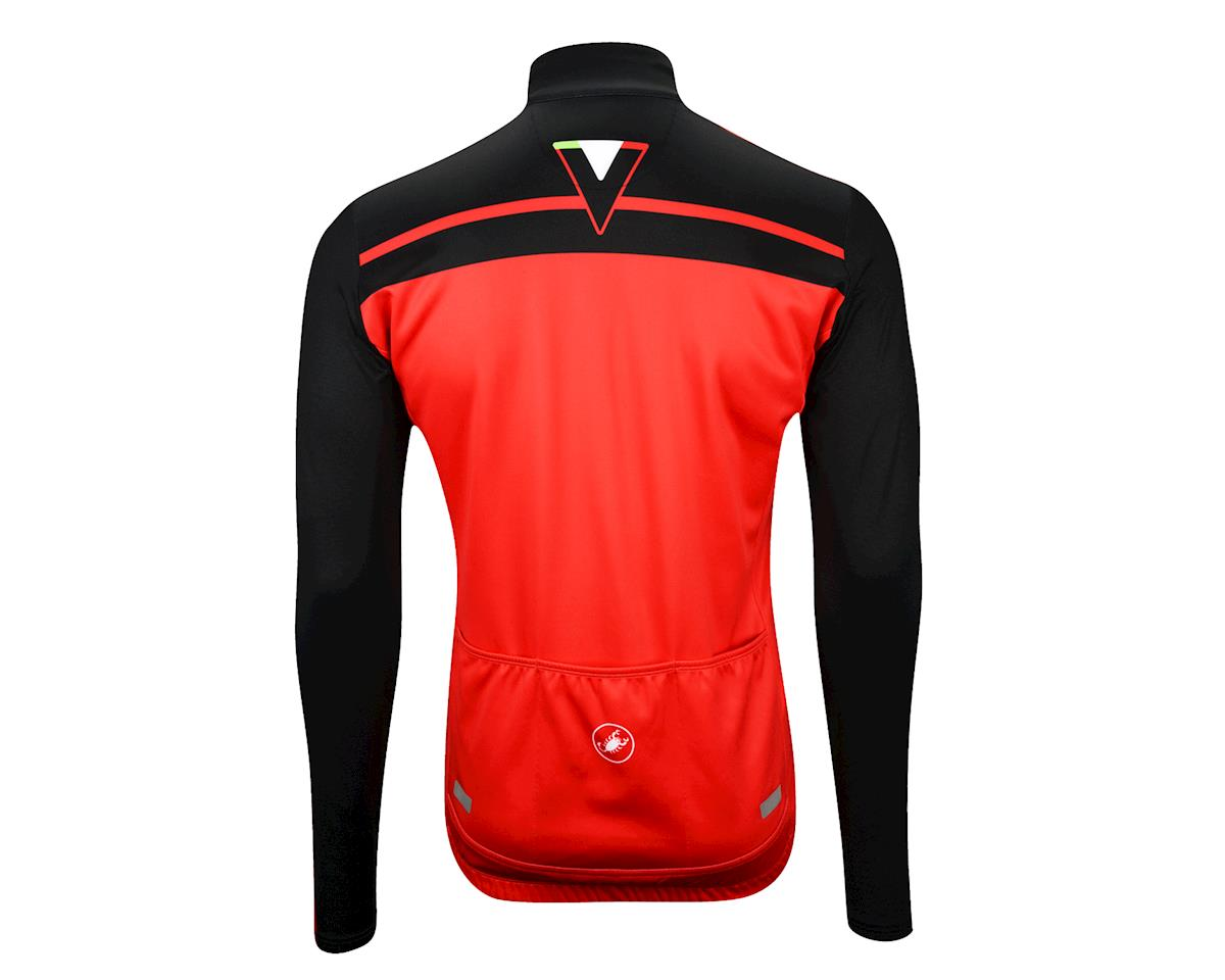 Castelli Velocissimo Long Sleeve Jersey - Performance Exclusive (Black/Red)