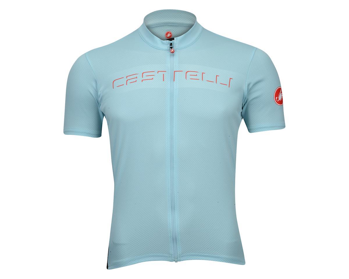 Castelli Prologo V Short Sleeve Jersey (Blue)