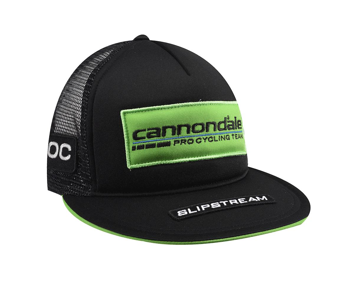 Image 2 for Castelli Cannondale Trucker Hat (Black/Green) (One Size Fits All)