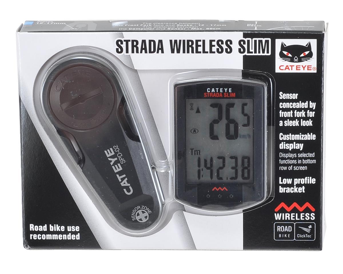 CatEye Strada Slim Bike Computer (Matte Black)