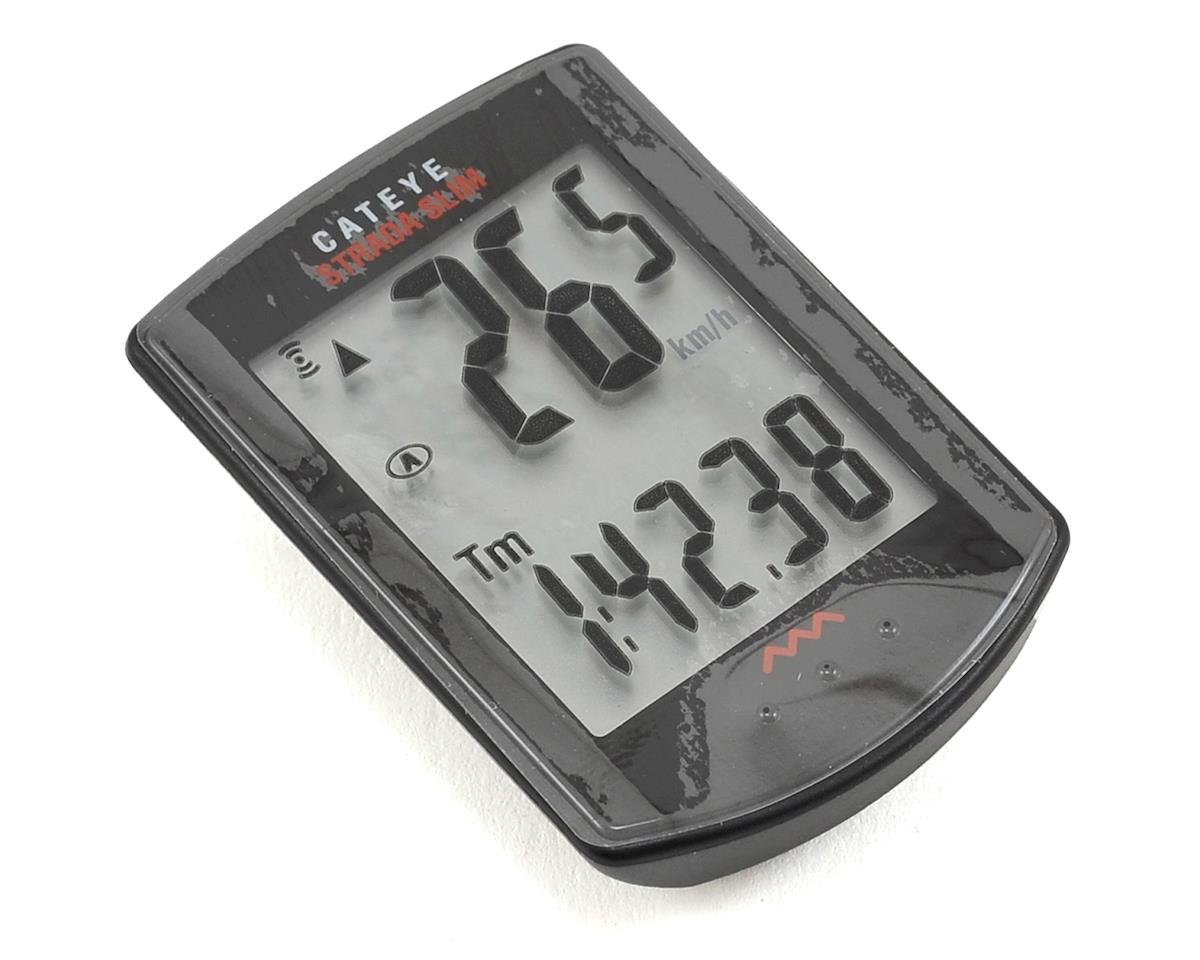 CatEye Strada Wireless Cycling Computer: Black