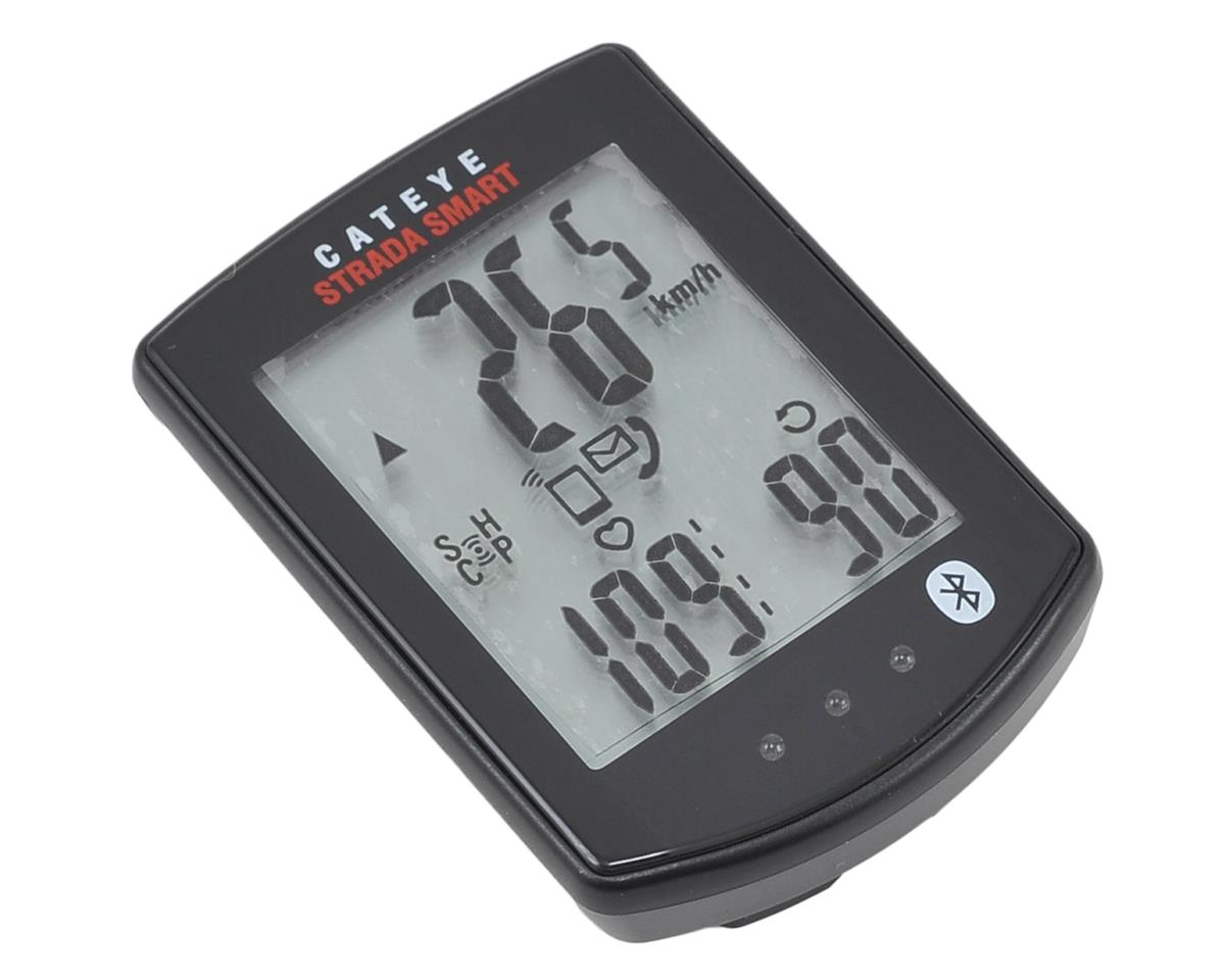 CatEye Strada Smart Bike Computer w/Speed, Cadence & Heart Rate (Black)