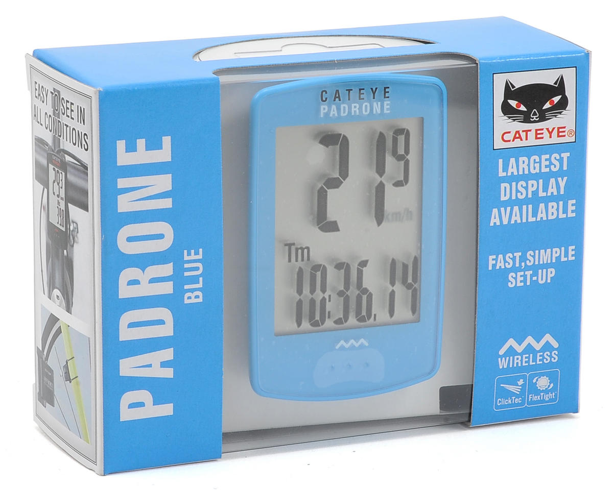 CatEye Padrone Bike Computer (Blue)