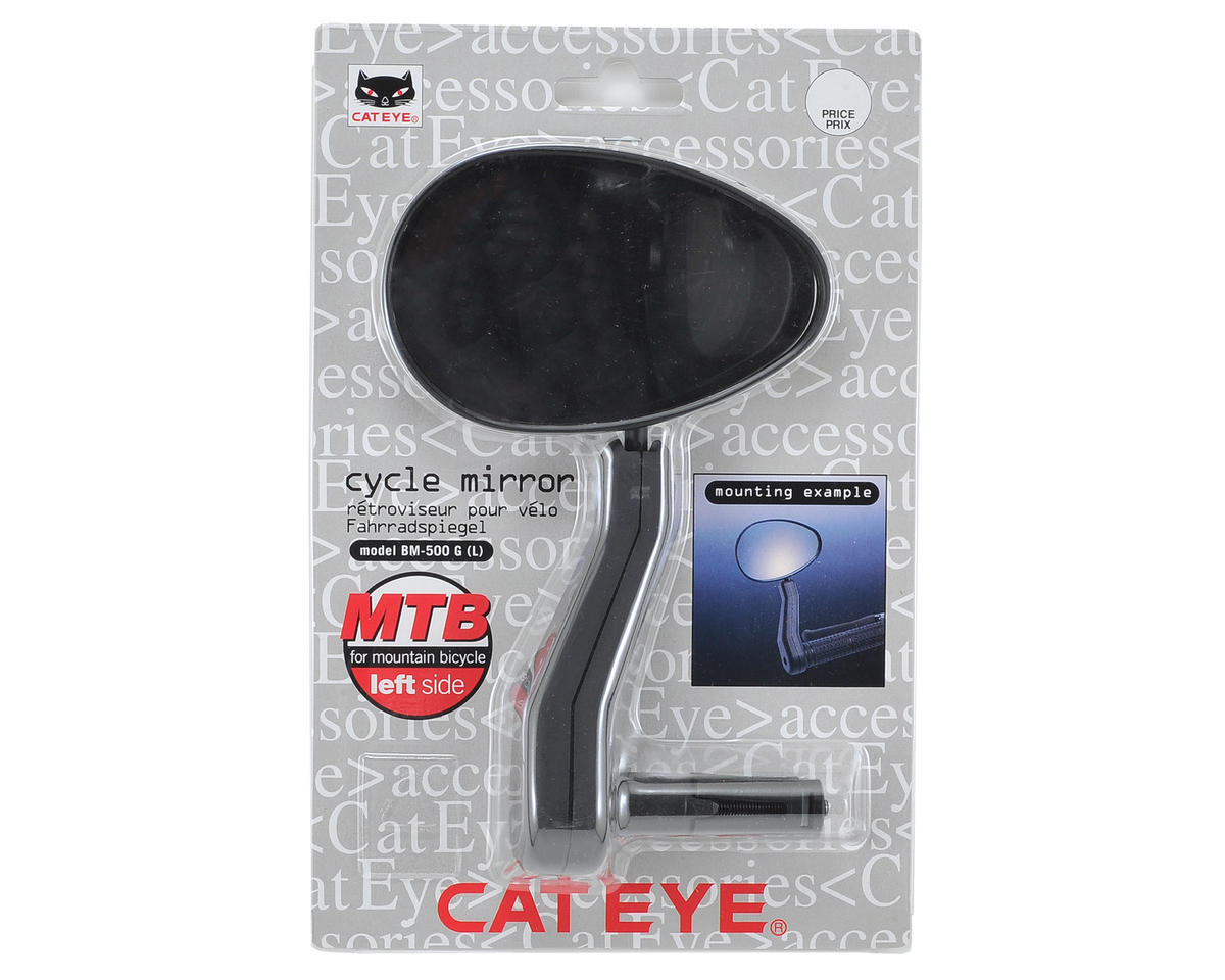 CatEye Left Side Bar End Mirror (Black)