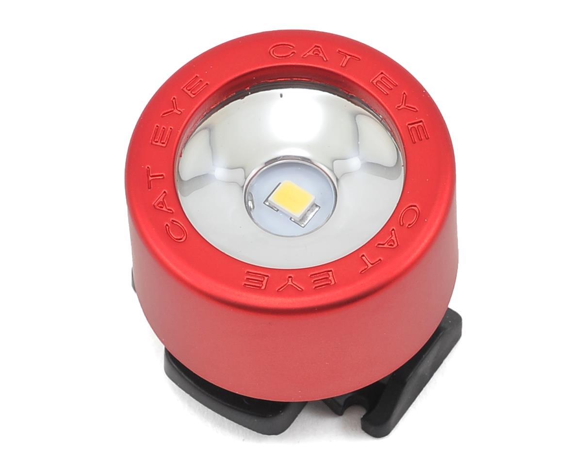 Cateye Nima Front LED Light SL-LD130 Chrome//Black Brand New