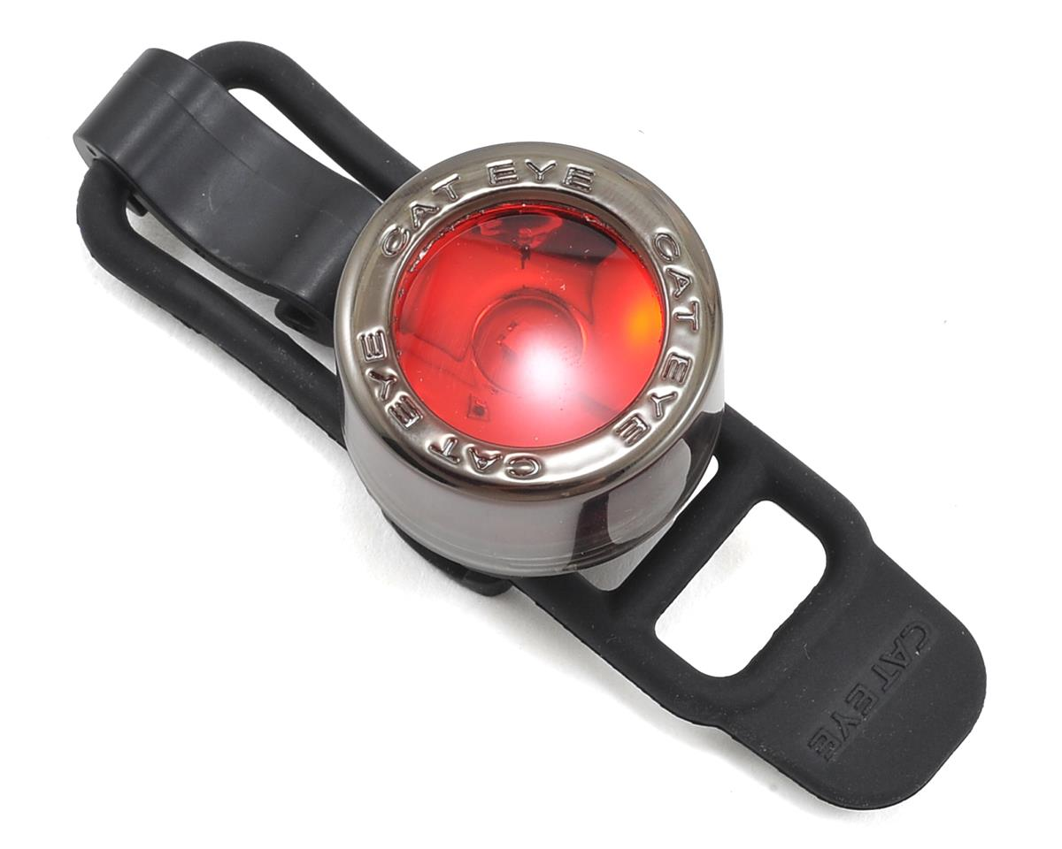 CatEye Nima 2 Red LED Bike Tail Light (Black Chrome)