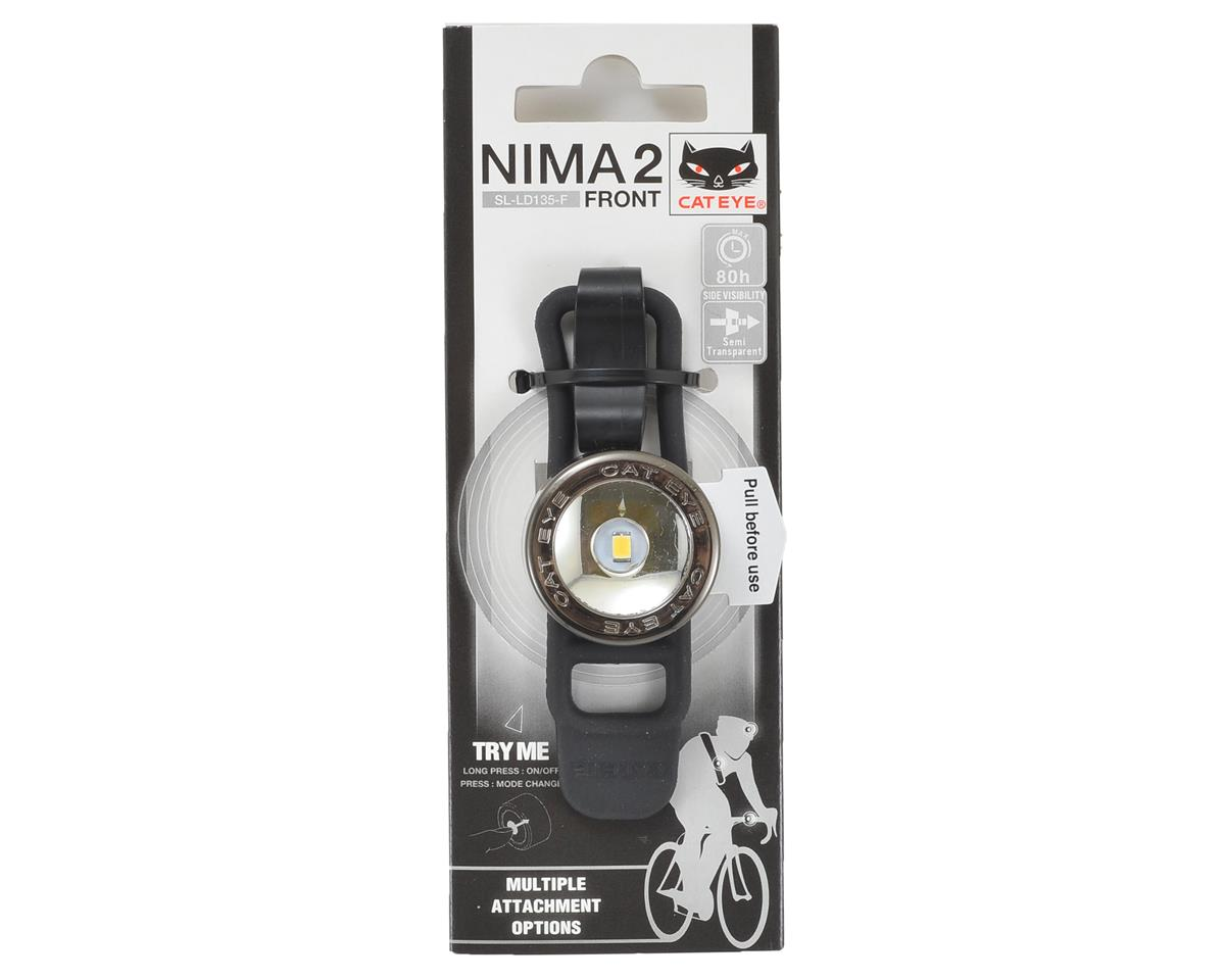 CatEye Nima 2 Bike Headlight (Black Chrome)