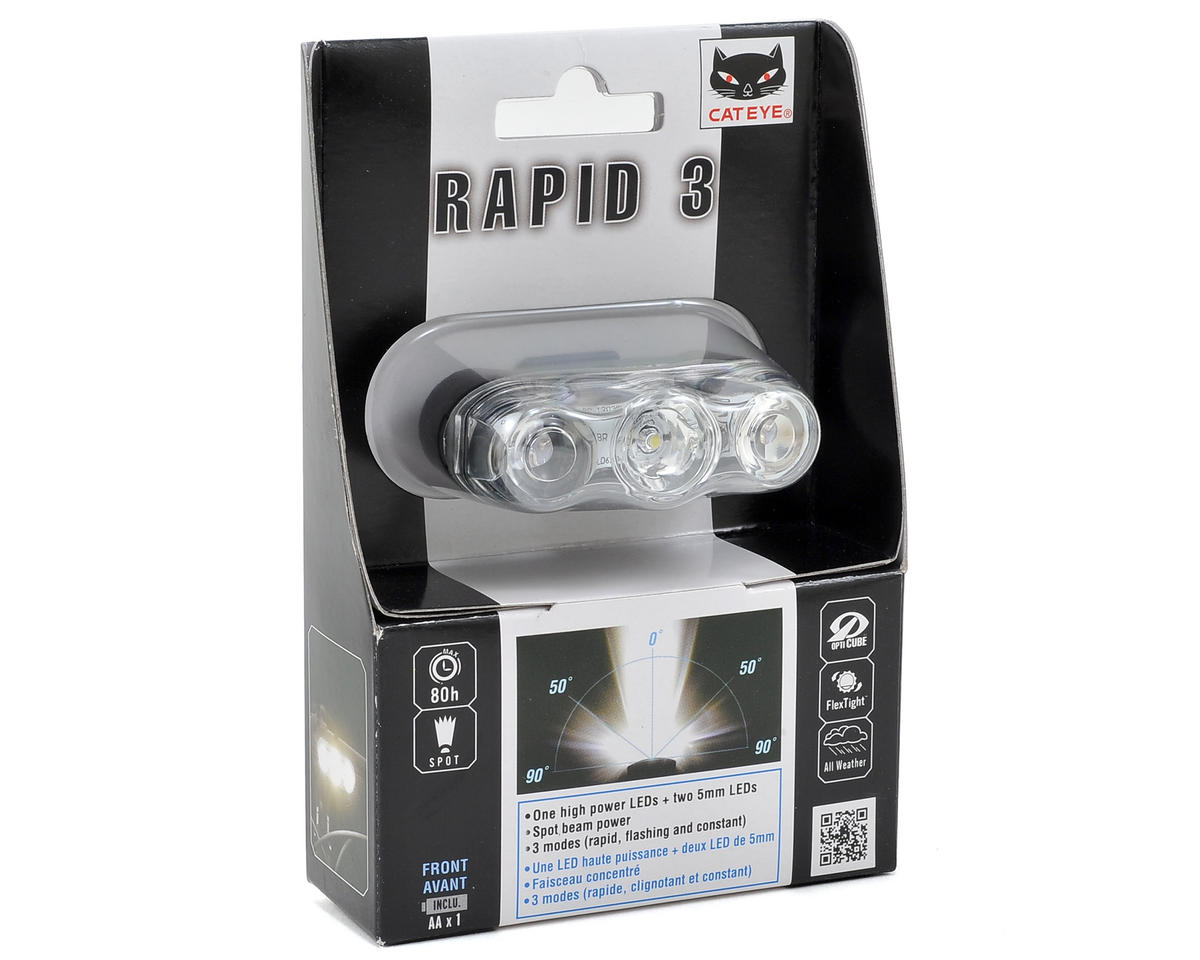 CatEye Rapid 3 Bike Headlight