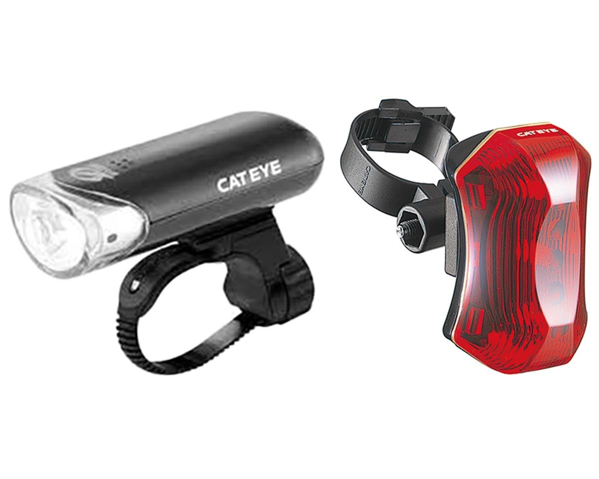 CatEye HL-EL130 TL-LD170 Bike Light Combo