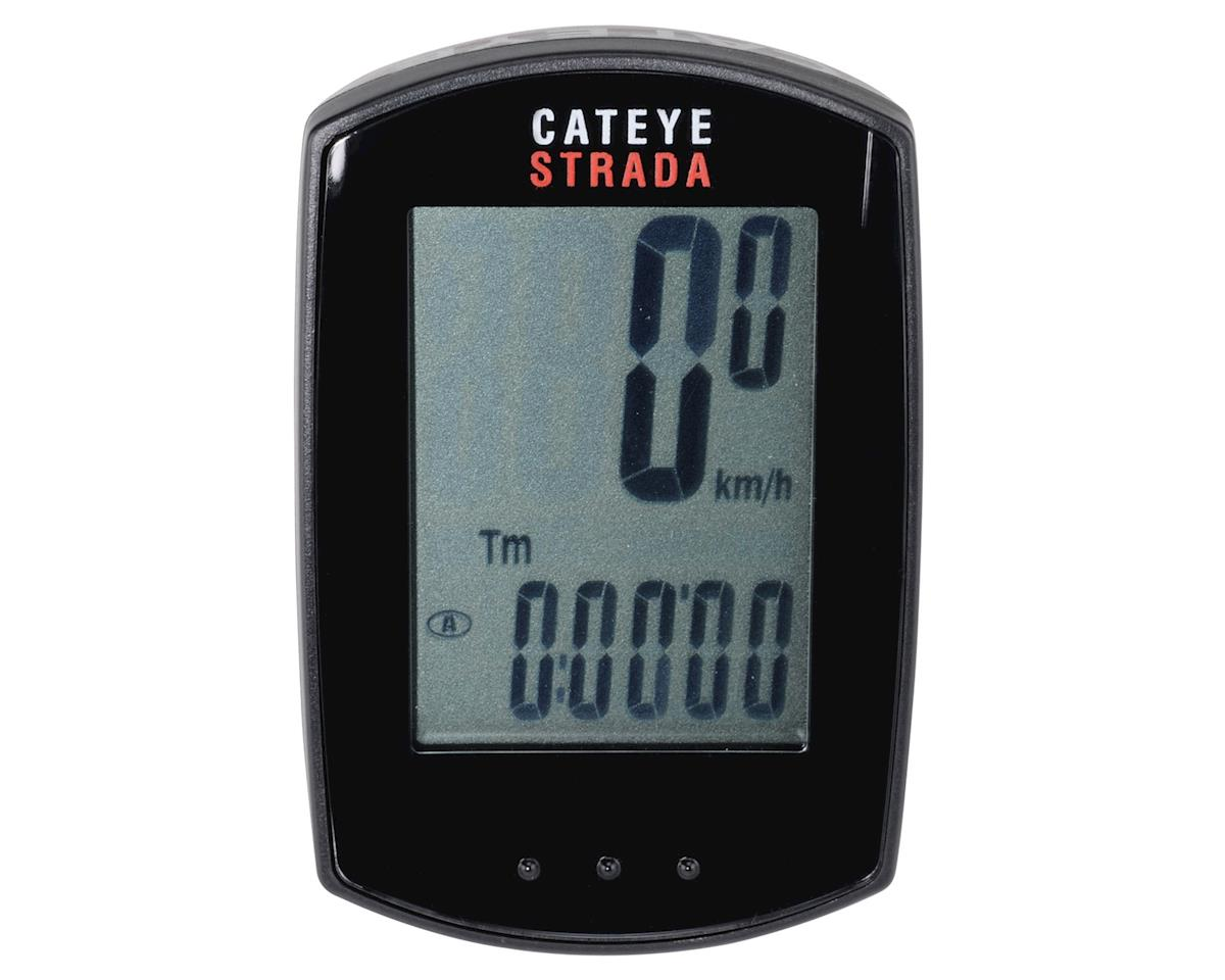 CatEye Strada Double Digital Wireless Cyclocomputer with Heart Rate/Speed