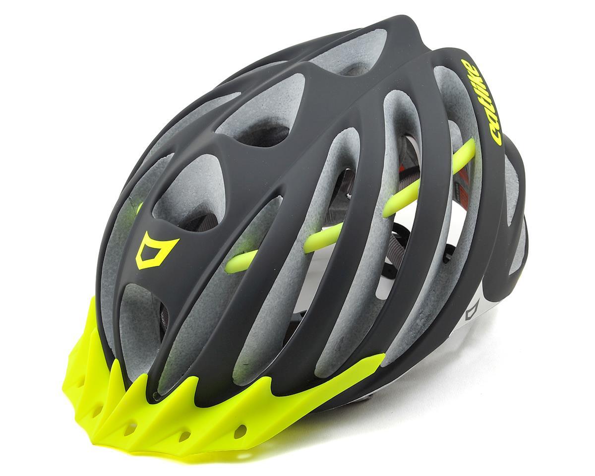 Catlike Vacuum Helmet (Matte Black/Neon Yellow)