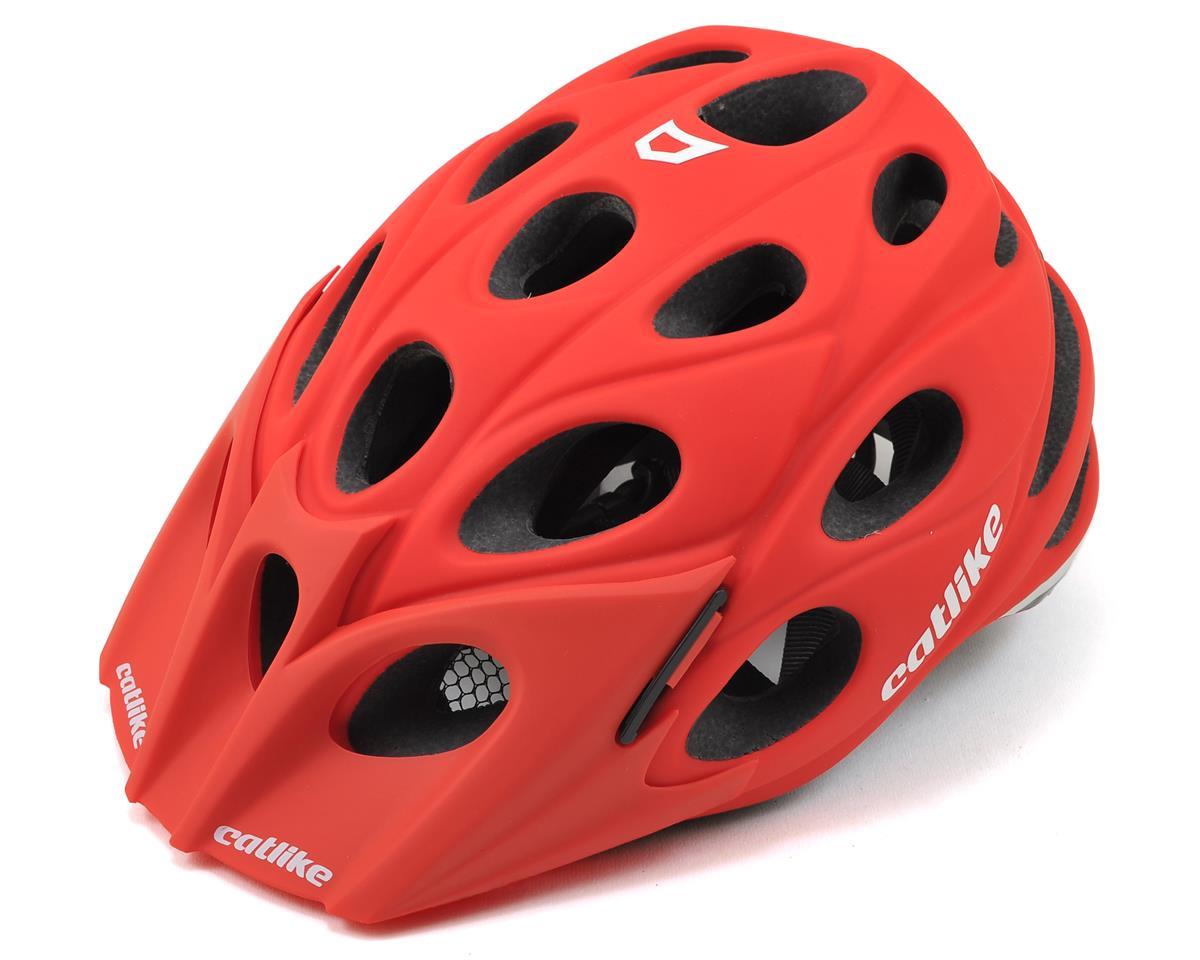Catlike Leaf Helmet (Matte Red)