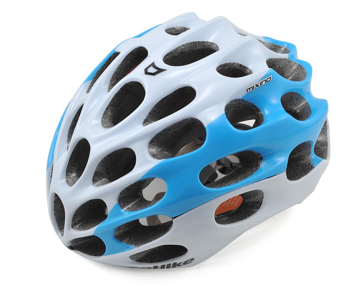 Catlike Mixino Road Helmet (White-Blue) (M)