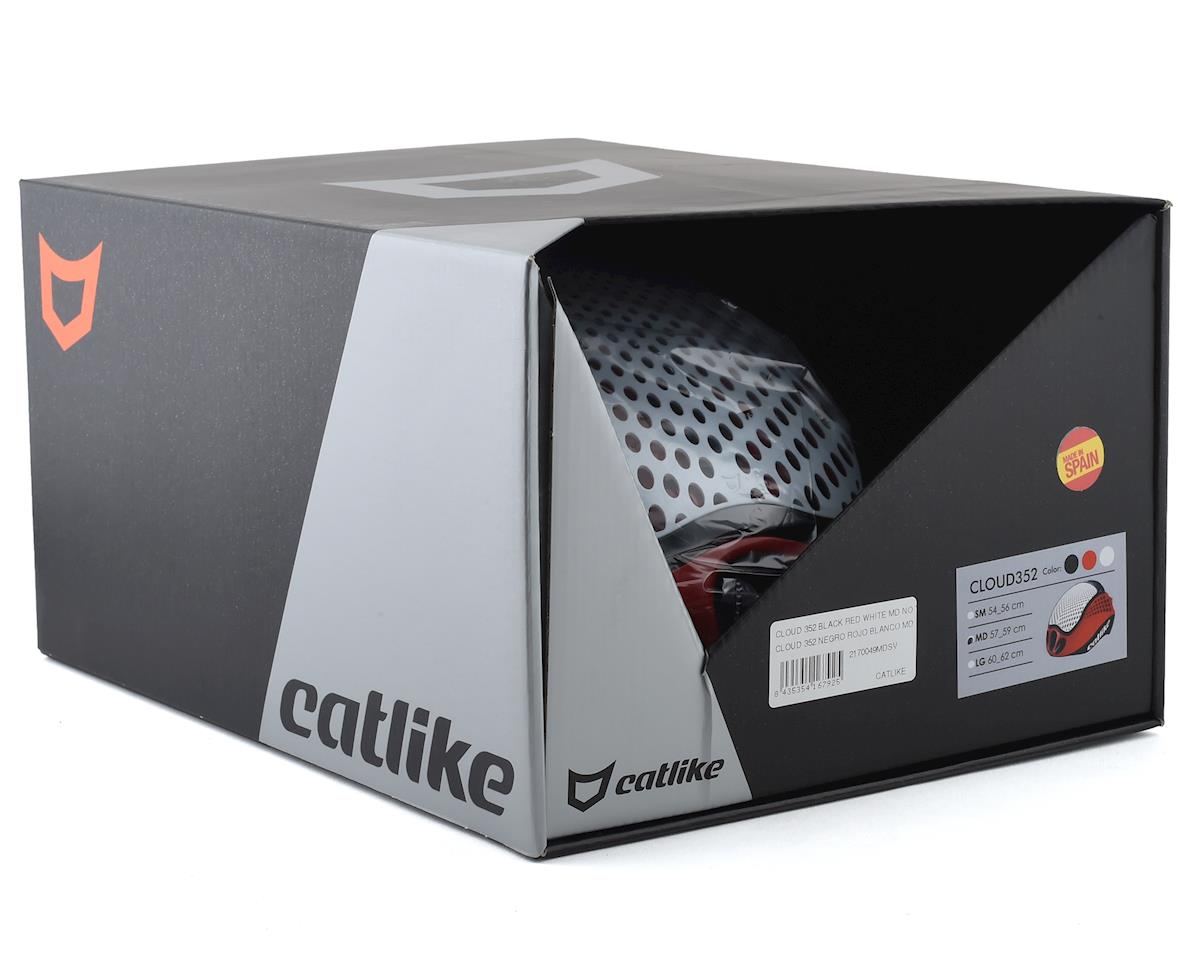 Catlike Cloud 352 (Black/Red/White) (No Visor) (L)