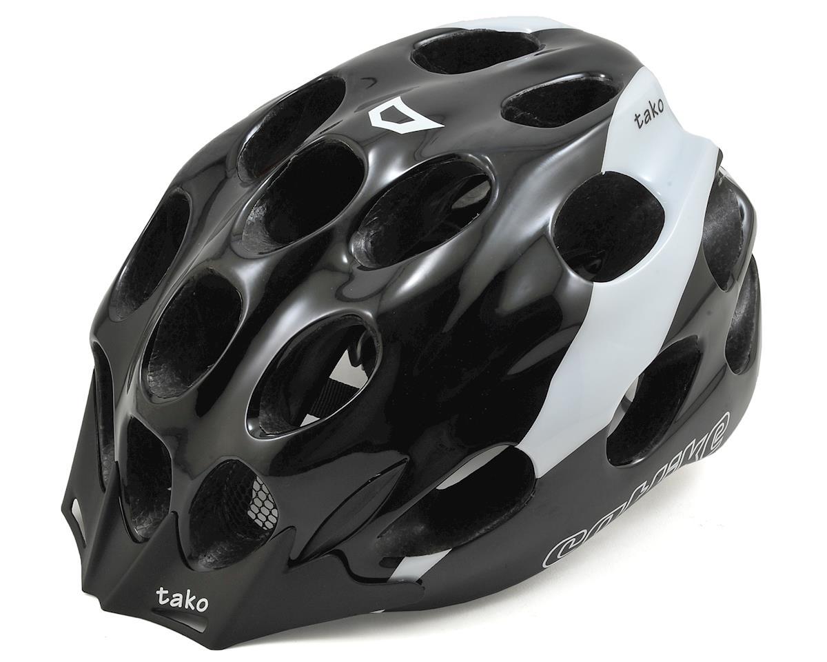 Catlike Tako Cycling Helmet (Black/White) (L)