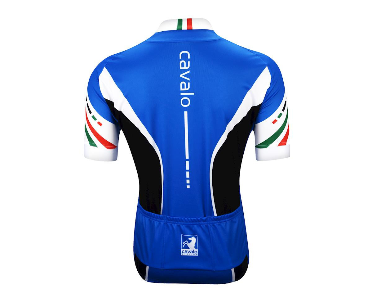 Image 3 for Cavalo Strada Jersey (Blue/Black/White)