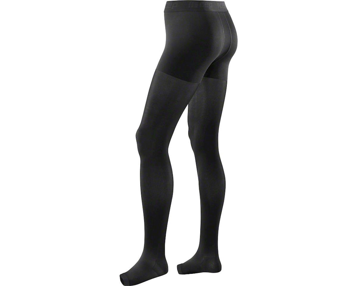 CEP Recovery+ Pro Men's Compression Tights: Black II (M)