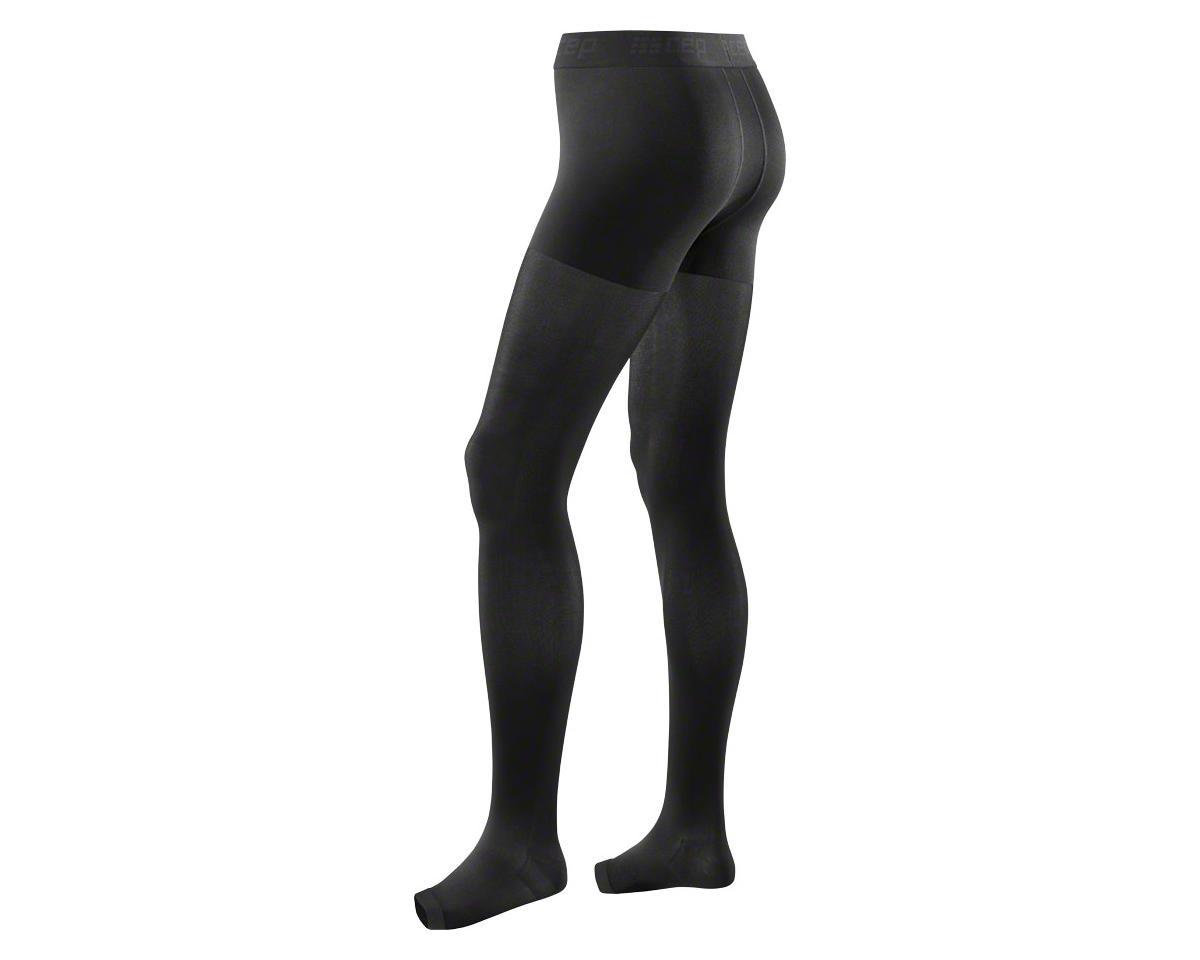 CEP Recovery+ Pro Men's Compression Tights: Black II (L)
