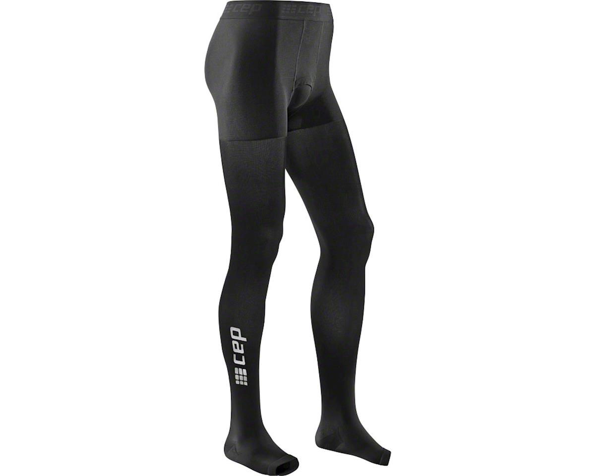 CEP Recovery+ Pro Men's Compression Tights: Black II (XL)