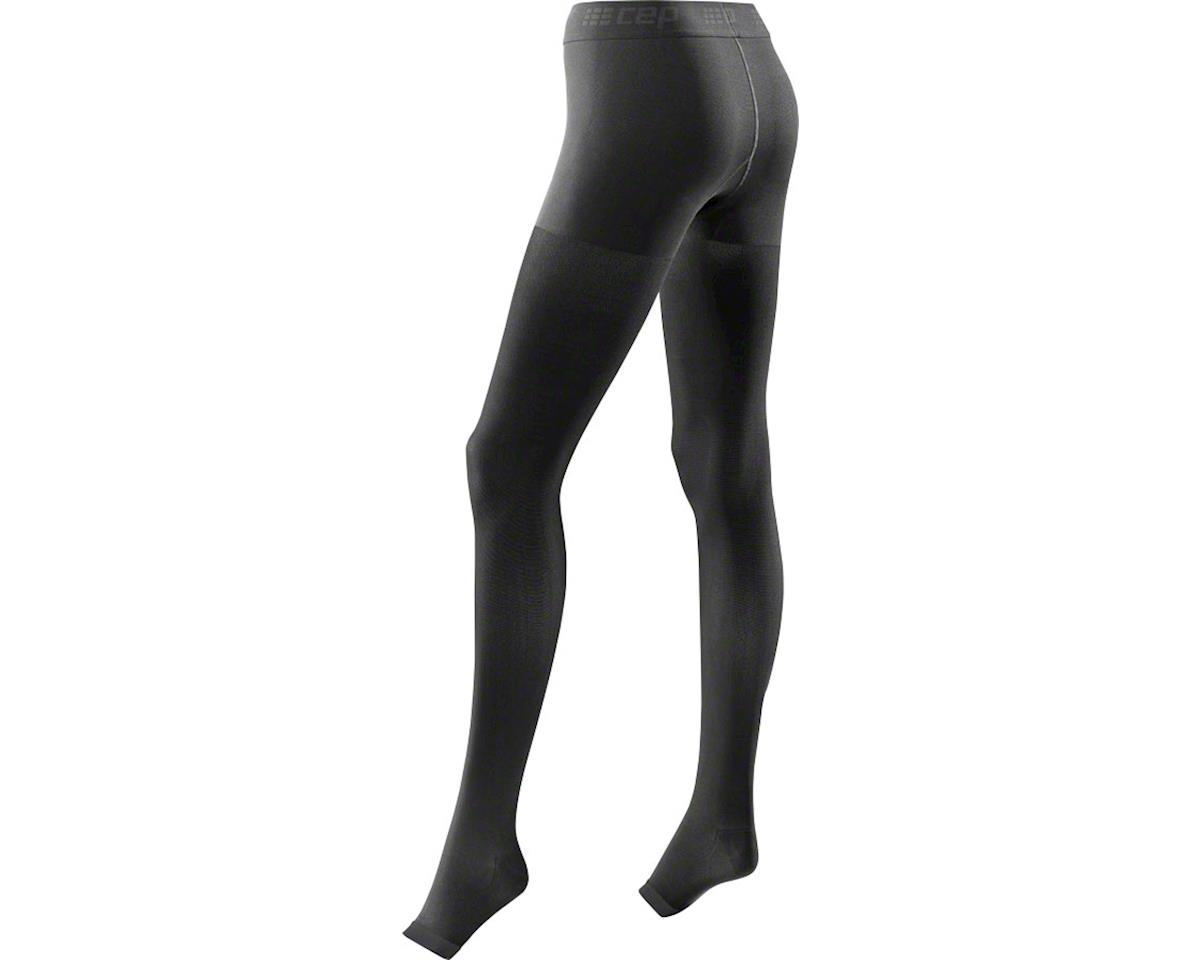 CEP Recovery+ Pro Women's Compression Tights: Black II (M)
