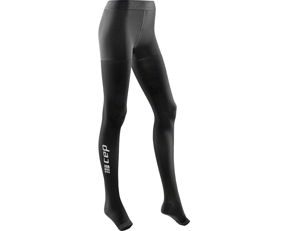 CEP Recovery+ Pro Women's Compression Tights: Black IV (L)